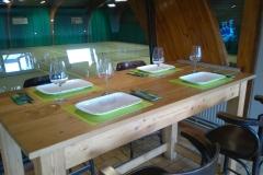 La petite table du Bar Crew