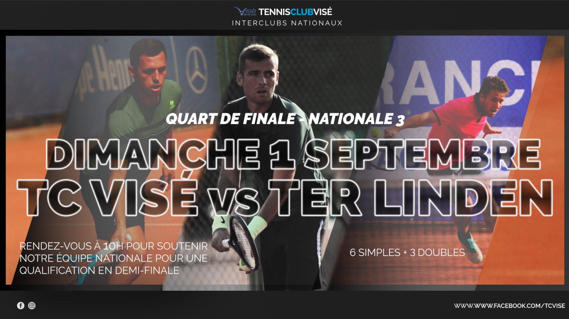 ¼ Finale Nationale 3 TC Visé