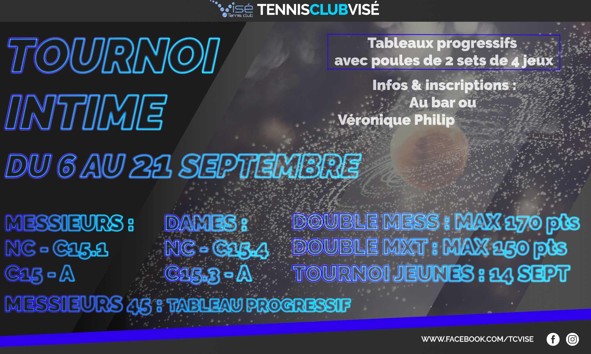 Tournoi intime 2019